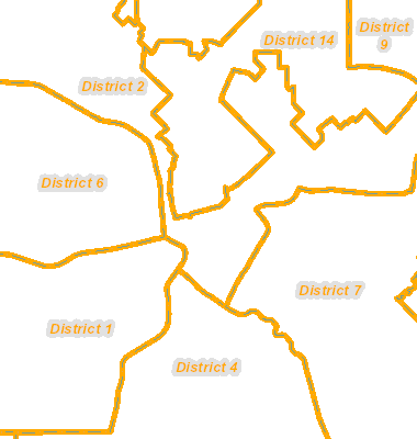 Map Of Texas District 6.City Info Dallas Tx
